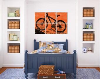 Gift Mountain Bike - Mountain Bike Art - Bike Lovers Gift - Cycling Gift Ideas - Mountain Bike Print - Mountain Biking - Bicycle Wall Art