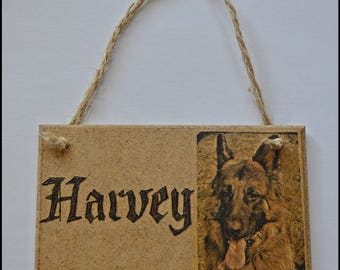 WOODEN PERSONALISED PLAQUES