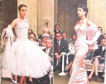 LIFE MAGAZINE, Paris Spring Fashions, Sept 6, 1954, DR. Teller H-Bomb,