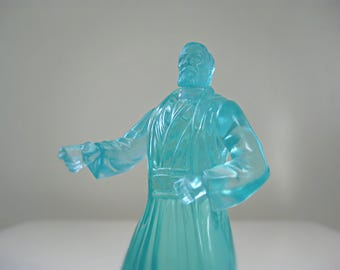 Vintage Star Wars Toy, Spirit Obi-Wan Kenobi, Star Wars Gift for Him, 1990s Action Figure, Star Wars Stocking Stuffer Kids Toy