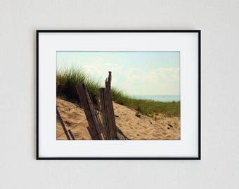 LAKE MICHIGAN LOVE | fine art photo print, landscape, nature, wall art, sea, lake, ocean, seascape, nautical, summer, serene, beach, sand
