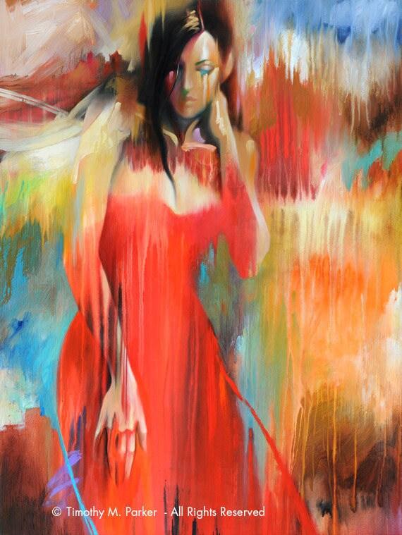 Figure Art Abstract Figure Art Modern Figure Painting-7970