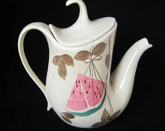 TAMPICO Teapot and Lid RED WING