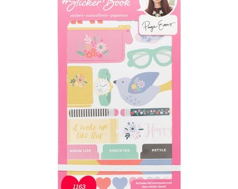 Paige Evans Designer #Sticker Book American Crafts Planner Sticker (344867)