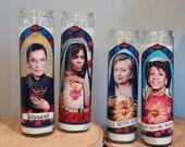 Woke Women Prayer Candle Set / Ruth Bader Ginsburg / Hillary Clinton / Michelle Obama / Maxine Waters