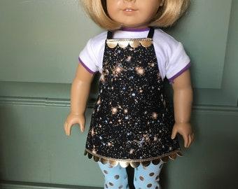 Galaxy Fabric Doll Apron