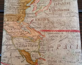 Expedition by Tim Holtz, Printed Vintage/Antique Map, 100% Cotton Fabric, Quilt Fabric, Apparel Fabric, Home Decor, Craft Projects, Yardage