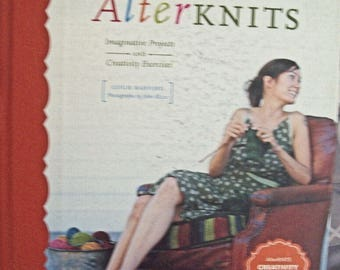 AlterKNITS used book-knitting book-instructural knitting book