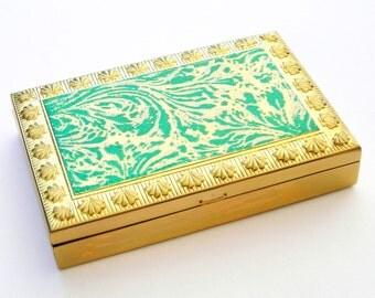 Vintage Compact, Vintage Pill Box, Volupte