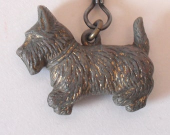Vintage Scottie Dog Charm