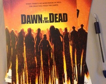"Dawn of the Dead - 2004 - Lobby Card 6""x9"" - Zach Snyder, George Romero Classic Horror Remake"