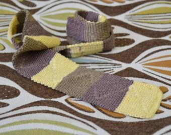 1940s Beau Brummel Rayon Knit Necktie