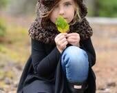 CROCHET PATTERN - Dane Dapple Cowl (3/6 months, 6/12 months, 12/18 month, Toddler, Child, Teen/Adult sizes)