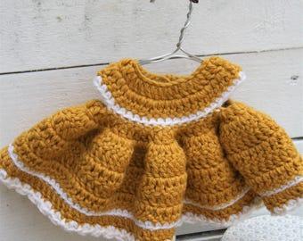PATTERN - Teddy bear dress - crochet pattern, PDF