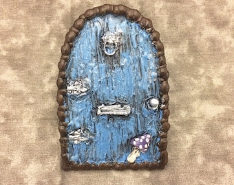 Hand Sculpted Fairy Door