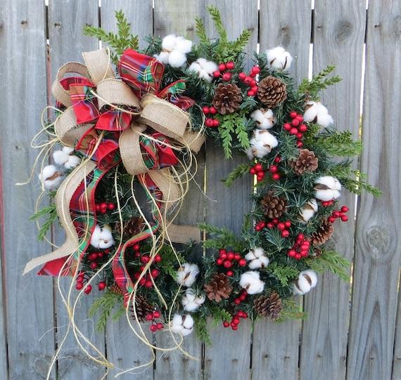 Horn 39 S Handmade Front Door Wreaths Christmas Wreaths