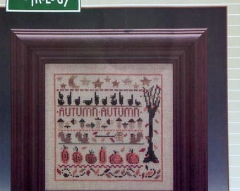Cross Stitch Pattern | AUTUMN LINE UP | The Trilogy | Fall Harvest | Counted Cross Stitch Pattern