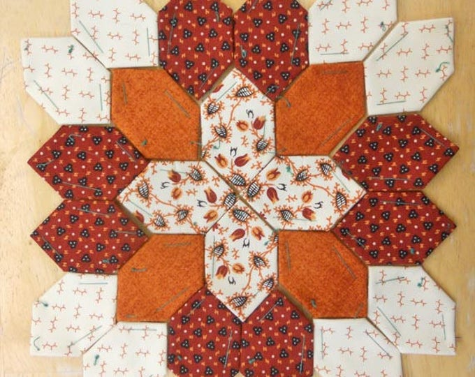 Lucy Boston Patchwork of the Crosses civil war block kit #2