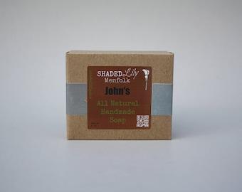 Mens' Bar Soap, Cedar Mens' Body Bar, Cedar Soap for Men