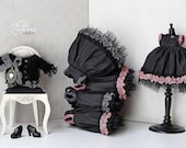 SWEET NIGHTMARE Blythe/Pullip Jacket By Odd Princess Atelier, New Hand Knitted Collection