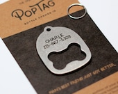 Gift For Dogs – Personalized Dog Collar ID Tag Bottle Opener