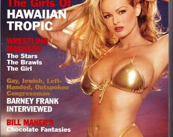 Vintage Playboy Magazine July 1999 with Brooke Richards, Just Plain Jennifer, Barney Frank, Michael Moore, Karen Finley, Hawaiian Tropic