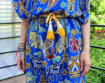 robe ethnique hippie