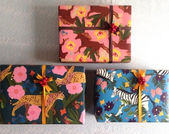 Into The Wild Wrapping Paper Set