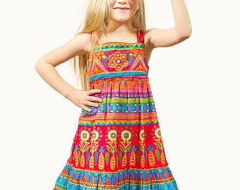 Rajastani Dancer Cotton Sundress