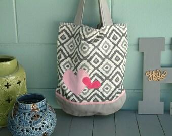 Tote, Shoulder Bag, Reversible, Morethanasmile