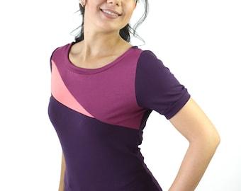 asymetrical handmade jersey shirt Berlin fashion