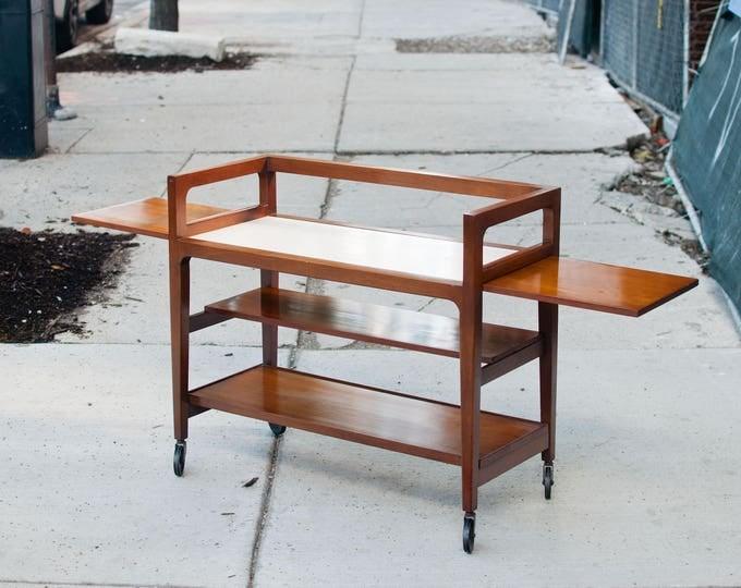 Featured listing image: Vintage Mid Century Bar Cart/ Tea Trolly