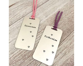 Personalized Bookmark, Custom Bookmark, Keepsake, hand stamping, special gifts, reader, kids name, bookworm, gifts for mom, gifts for kids