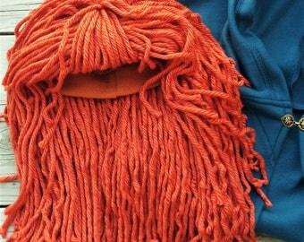 Deluxe Merida Wig Brave Red Orange Girls