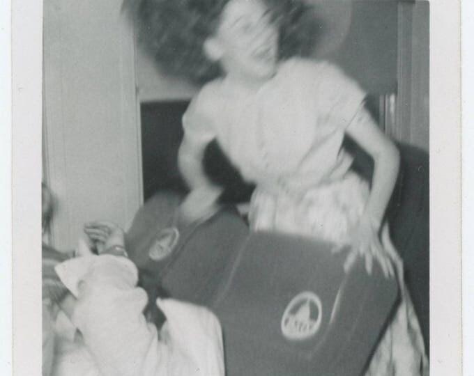 Vintage Snapshot Photo: Excitement (710613)