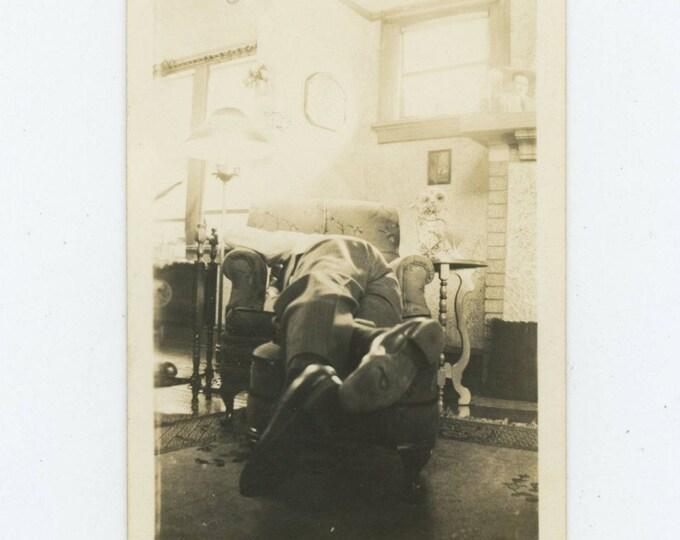 "Vintage Snapshot Photo: ""Joe"" [82654]"