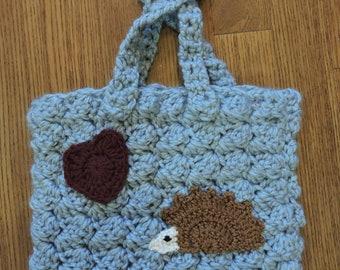 Crochet Hedgehog  Bag