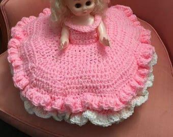 Crocheted Pillow Dolls
