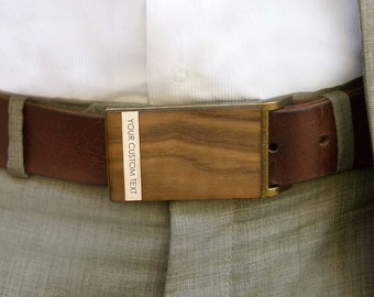 Gift for guy, Men's Wooden Belt Buckle, Coordinate Belt Buckle, Personalized Belt Buckle, Custom Belt Buckle