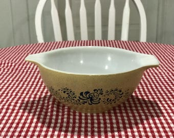 Pyrex Homestead Blue #442 Cinderella Bowl