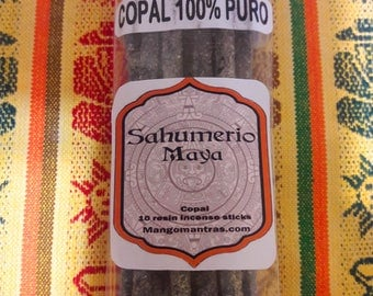 100% Pure Sacred Mexican Copal incense for Protection, Cleansing, and Purifying. 10 pcs.