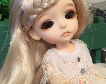 bjd doll long curly wig for lati yellow pukifee doll 16cm 1/8 bjd doll(1 color)