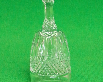Vintage Small Bleikristall 24% Lead Crystal Bell (No Clapper), West Germany