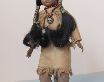Native American Indian Doll,