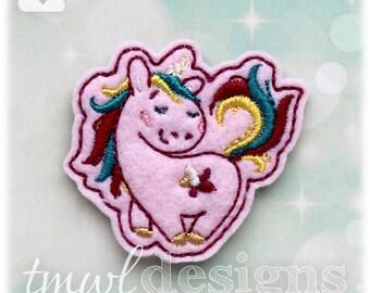 """Unicorn B Feltie Digital Design File - 1.75"""""""
