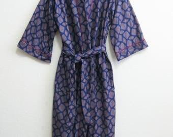 Oscar de la Renta Blue Robe - One Size -SOFT