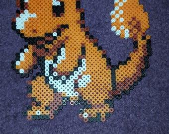 Pokemon Charmander perler spritr