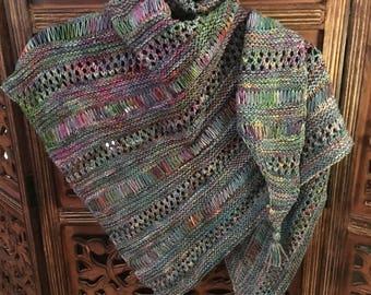 Knitting Joy Malabrigo Shawl