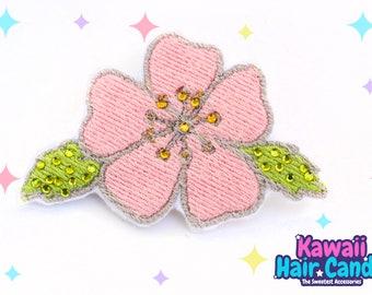 Japanese Cherry Blossom / Hair Clips / Hair Clips For Wedding / Flower Hair Clips / Sakura Hair Clips / Hair Clips for Women / Wedding Clips