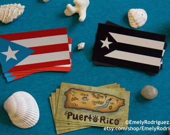 Set of 5x Puerto Rico Magnets